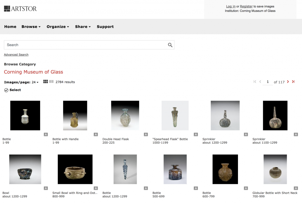 CMoG Collections in the Artstor Digital Library