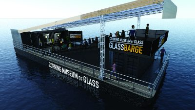 GlassBarge. Rendering by McLaren Engineering Group.