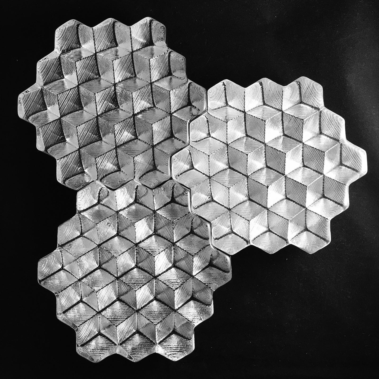 Frederick G. Kahl, Sacred Geometry Hexagonal Tiles