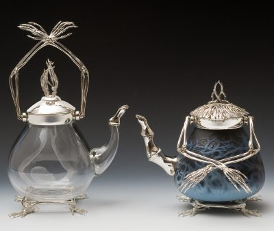 Baba Yaga's Teapots for Light and Dark Spells by Wendy Yothers, recent Artist-in-Residence at The Studio.