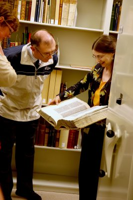 Rare manuscripts in the Rakow Research Library