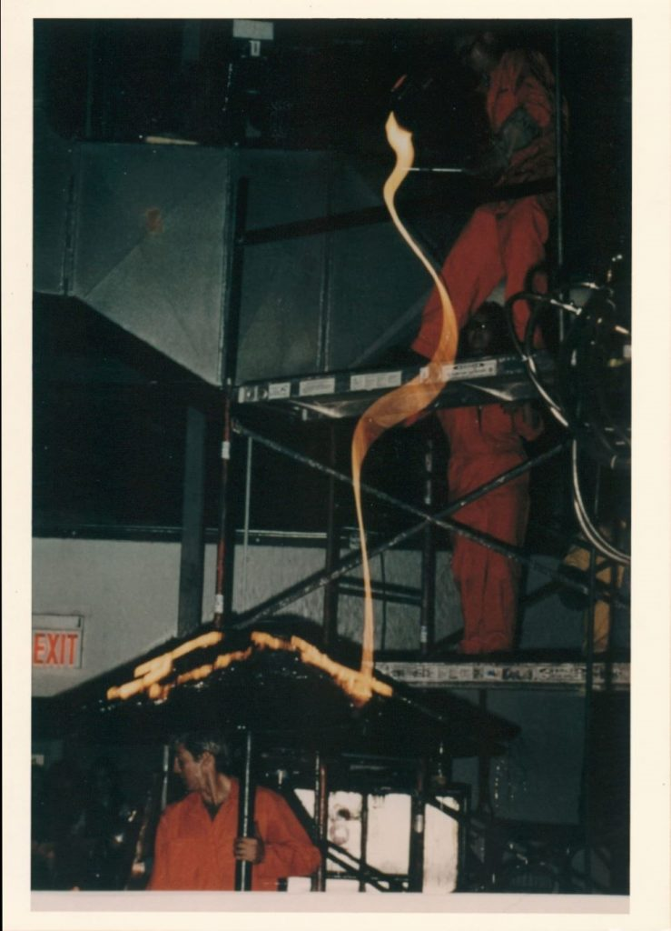 Evan Snyderman, Kelly Lamb, and Thor Bueno: Spontaneous Combustion performance, 1996